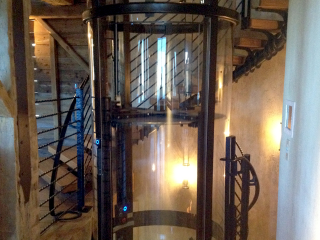 Home elevator in co traditional contemporary for Home elevators direct